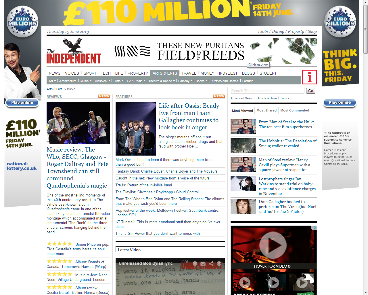 Independent.co.uk/music