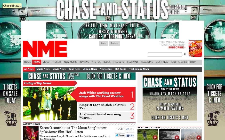 NME Takeover