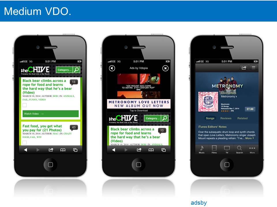 Mobile Banners & Video